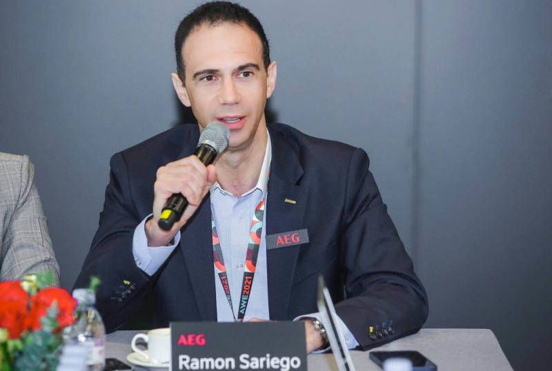 伊莱克斯Ramon Sariego:接纳中国趋势,满足适应中国市场