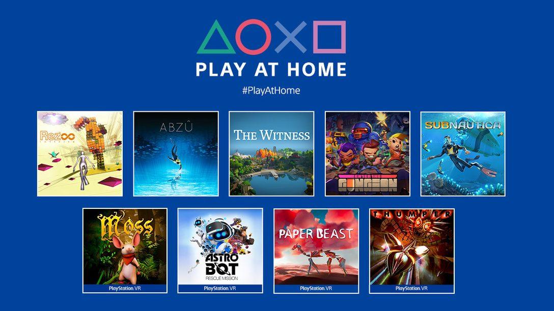 PS玩家有福了!索尼狂送10款游戏