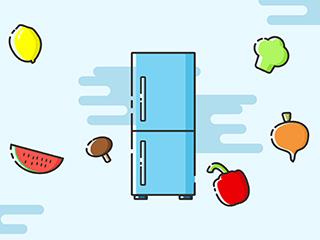 冰箱漏水孔被堵了