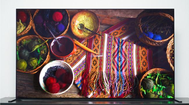 索尼画谛系列OLED电视A90J评测