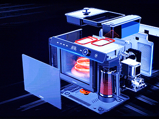 格兰仕全球首创G-Max集成微波炉中国首发