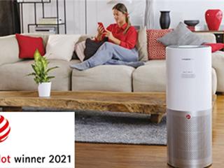 在德国:海尔智家旗下Hoover空气净化器获红点设计大奖