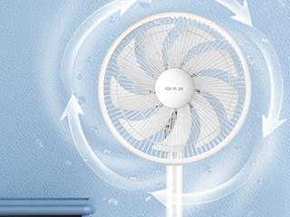 夏至未至气温升高,你需要一台电风扇横扫酷热