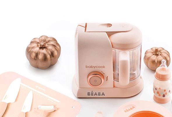 Beaba法国辅食料理机:营养靠它蒸出来
