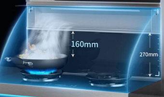 开放式厨房用什么油烟机效果好?森歌帮您开启夏季烹饪省力模式