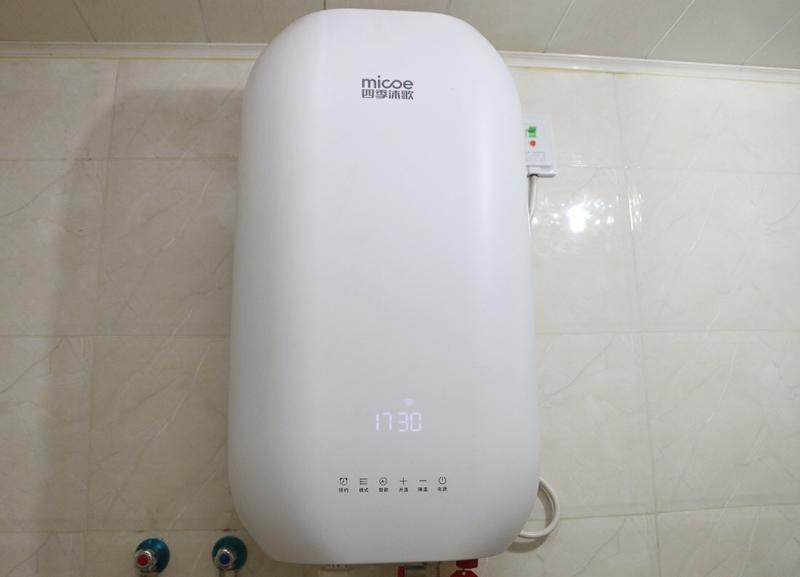 恒温不等待,澎湃大水量!四季沐歌MS55-24SX05电热水器评测