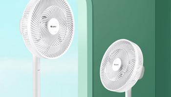 這個夏天,電風扇輕輕啟動,涼風緩緩送來
