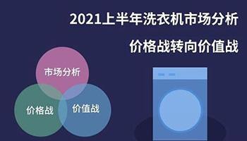 2021上半年洗衣机市场分析:价格战转向价值战