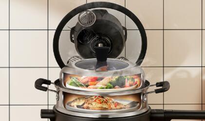 让你爱上做饭 智能料理机食万2.0你的厨房专家