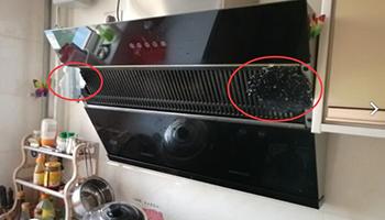 苏泊尔油烟机,燃气灶面板炸裂事故频出 玻璃杯断裂致小孩二级烧伤