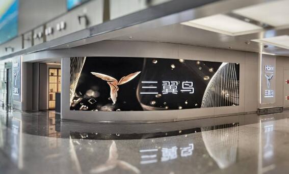 三翼鸟体验中心落户青岛胶东国际机场