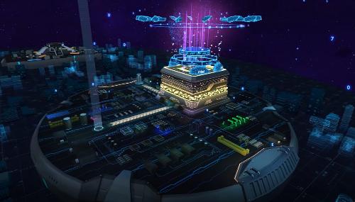 亮相百度世界VR会场:希壤新升级 AI构筑未来世界