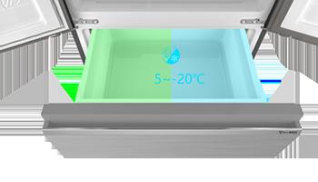 冰箱抽屉谁家大,澳柯玛S+Pro冰箱超乎你想象
