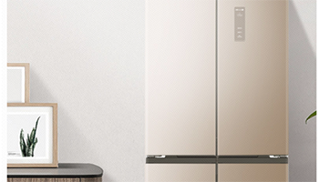超薄大空间精细分储,澳柯玛十字对开冰箱获赞