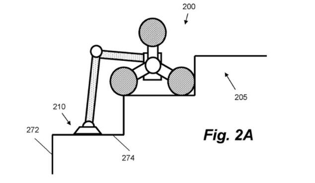 戴森申请可爬楼梯清洁机器人专利,还有机械手