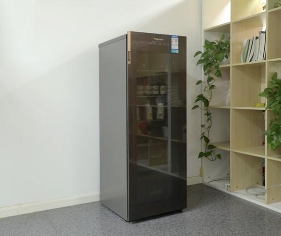 海信璀璨系列新品JC-166WZKJC1P厅吧评测 真空存储打造艺术生活