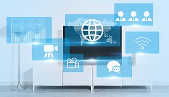 2020年我国互联网电视用户达9.55亿