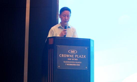 中国家用电器协会副理事长朱军