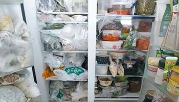 柠檬片、橘子皮全用上了,冰箱还有异味可能是因为这一点