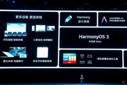 华为正式发布HarmonyOS 3开发者预览版,构建亿亿连接的新基石