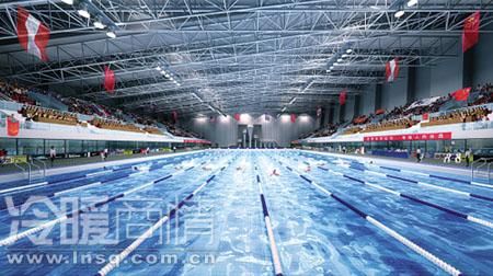 亚运会游泳跳水馆