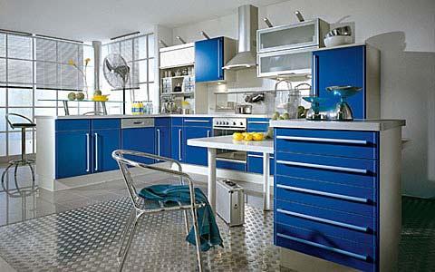 二十款时尚厨房装修样板间效果图赏析