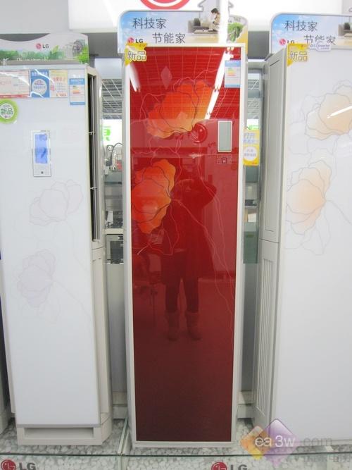 尽显雍容典雅 lg空调新品柜机亮相大中
