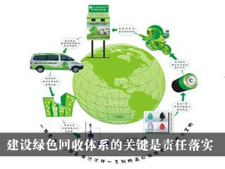 建设绿色回收体系的关键是责任落实