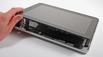 ipad拆解:大量使用双面胶带但无廉价感