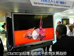 CEATEC08超薄无线成平板TV发展趋势